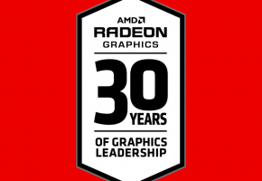 Radeon 30 Years logo