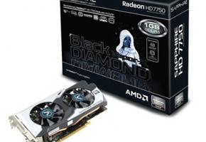 Sapphire HD 7750 OC Black Diamond (2)