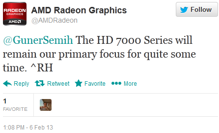 Radeon HD 8000 Delayed