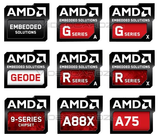 AMD 2013 Logos