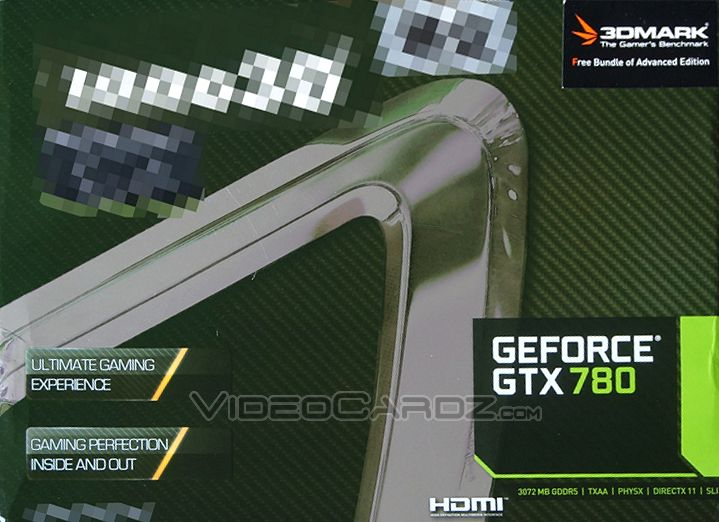 Inno3d GeForce GTX 780 Front