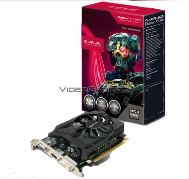 11215-00 R7 250 1G GDDR5