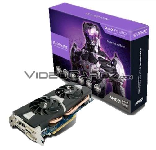 11221-00 R9 280X Dual-X 3G GDDR5