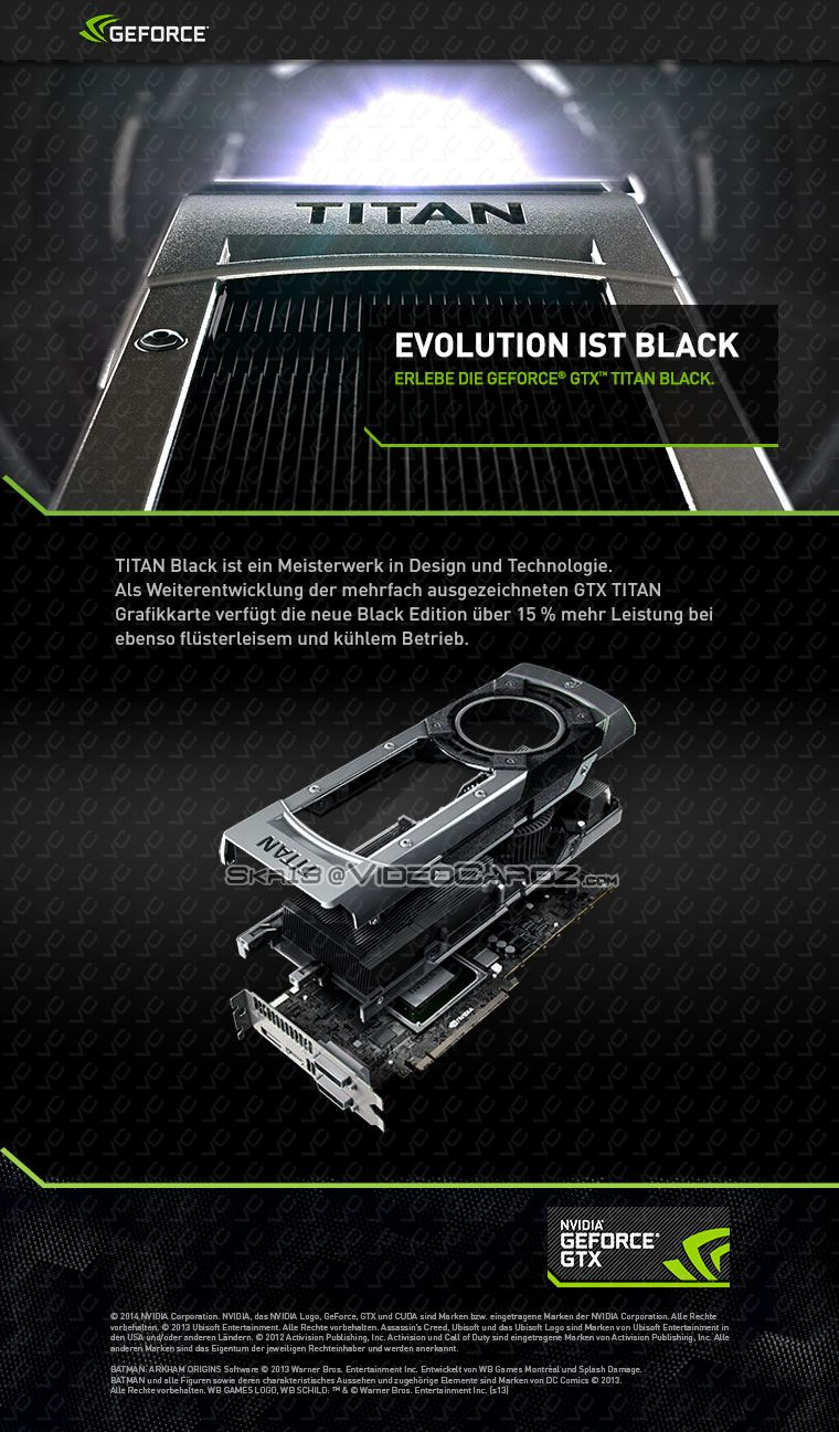 GeForce GTX TITAN BLACK ad