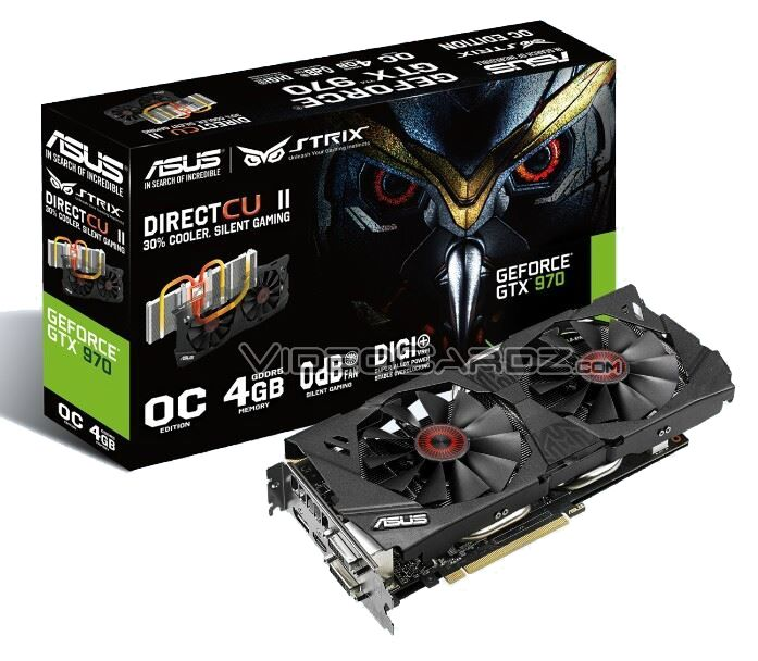 ASUS GeForce GTX 970 STRIX graphics card