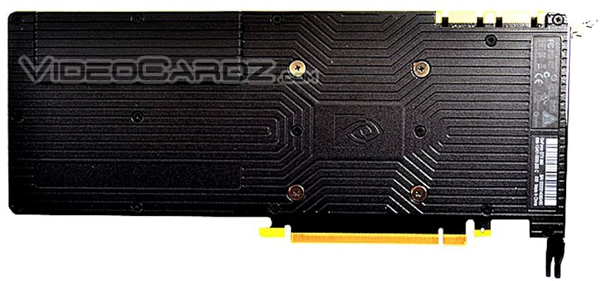 NVIDIA GeForce GTX 980 Back Picture