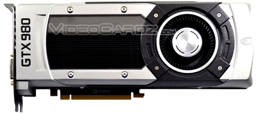 NVIDIA GeForce GTX 980 Front Picture