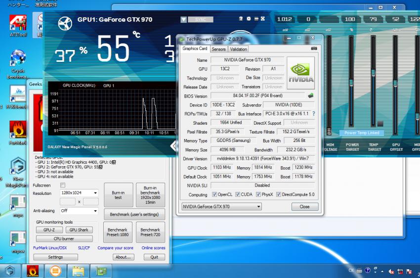 NVIDIA GeForce GTX 980 GPUZ