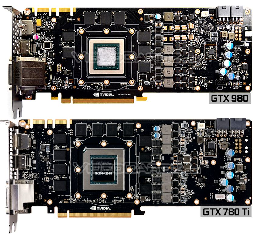 NVIDIA GeForce GTX 980 PCB Front Picture