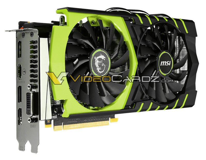 微星的GeForce GTX 960 100 MILLION版(1)