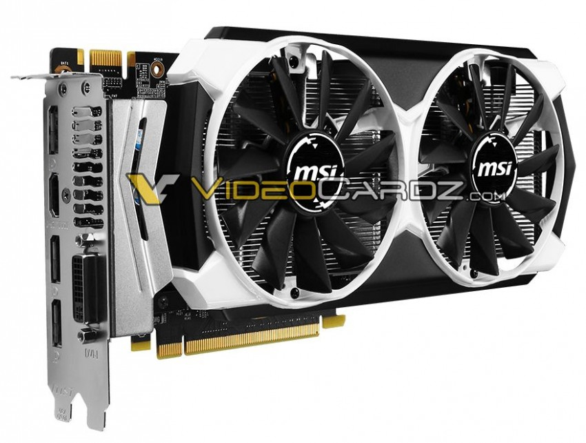 MSI GeForce GTX 960 2GD5 (front)