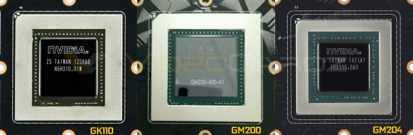 NVIDIA GK110 vs GM200 vs GM204 GPUs
