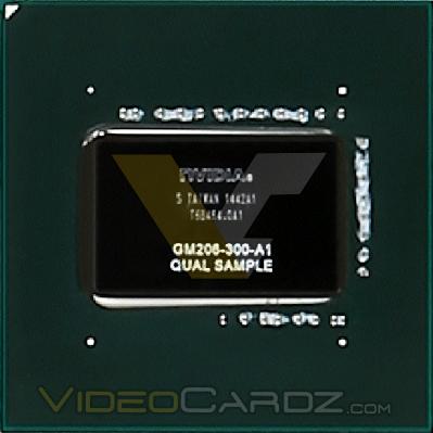 NVIDIA麥克斯韋GM206-300 GPU