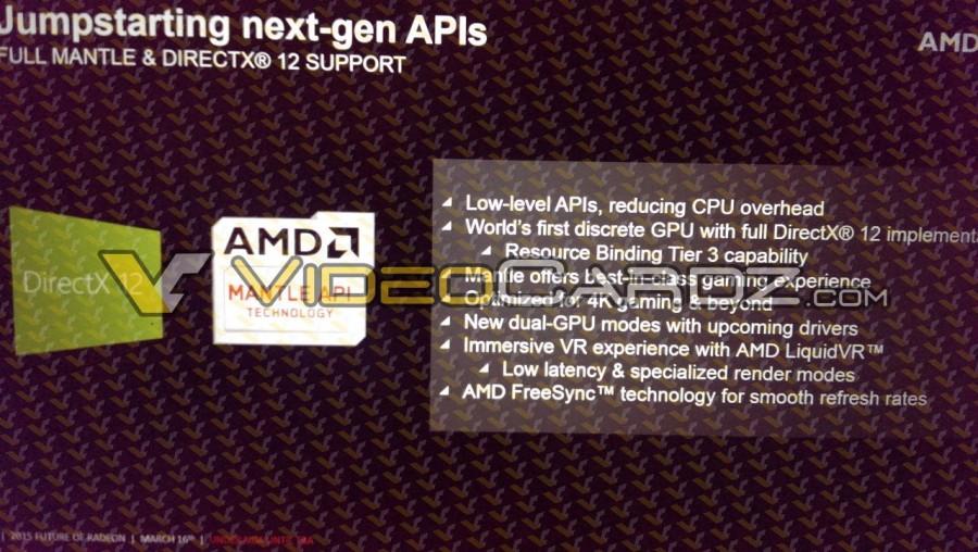 AMD Radeon R9 390X DirectX12