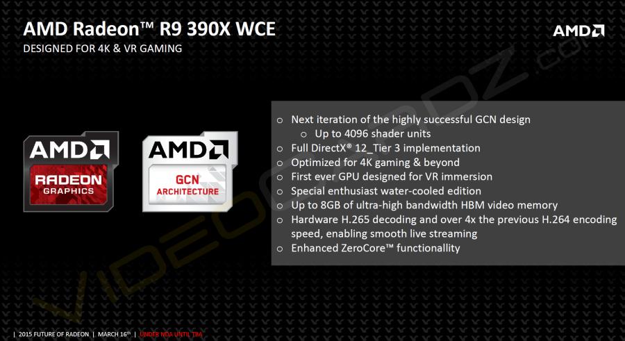 AMD Radeon R9 390X WCE