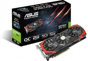 ASUS GTX960-DC3OC-2GD5 box