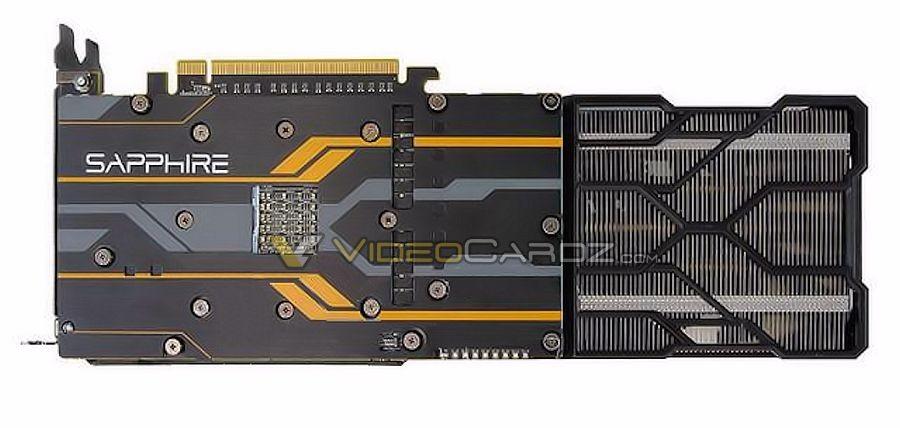 Sapphire Radeon R9 Fury backplate