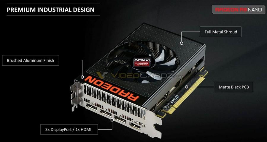 AMD Radeon R9 Nano angle