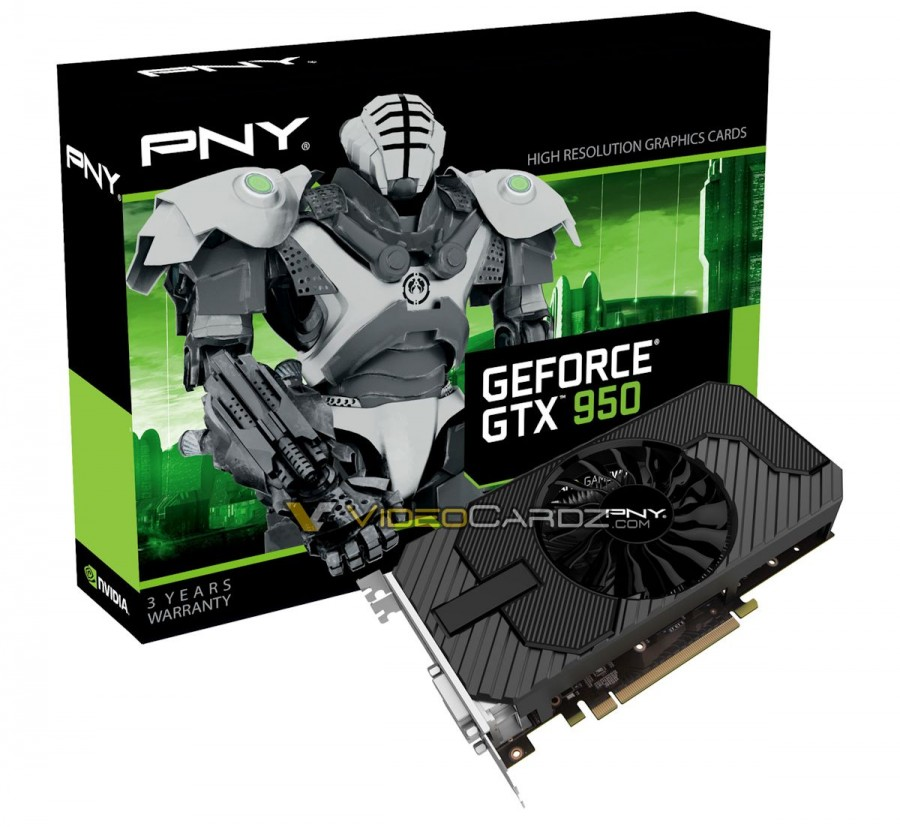 PNY GeForce GTX 950