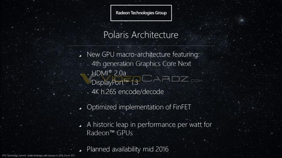 AMD Polaris Architecture 9