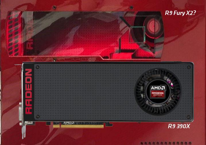 AMD Radeon R9 Fury X2 vs R9 390X