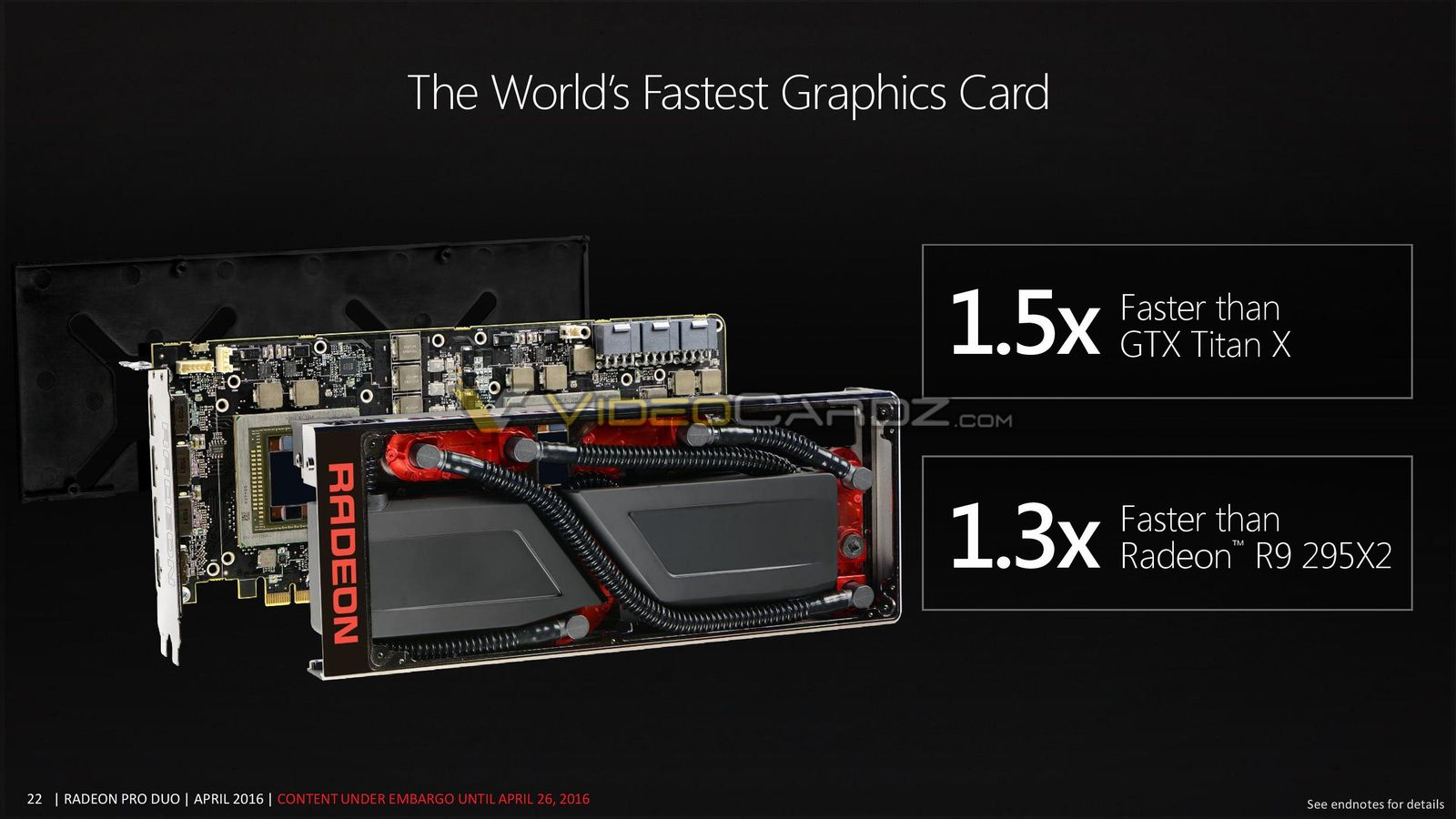 Radeon Pro Duo AMDs Dual Fiji Grafikkarte Im Detail