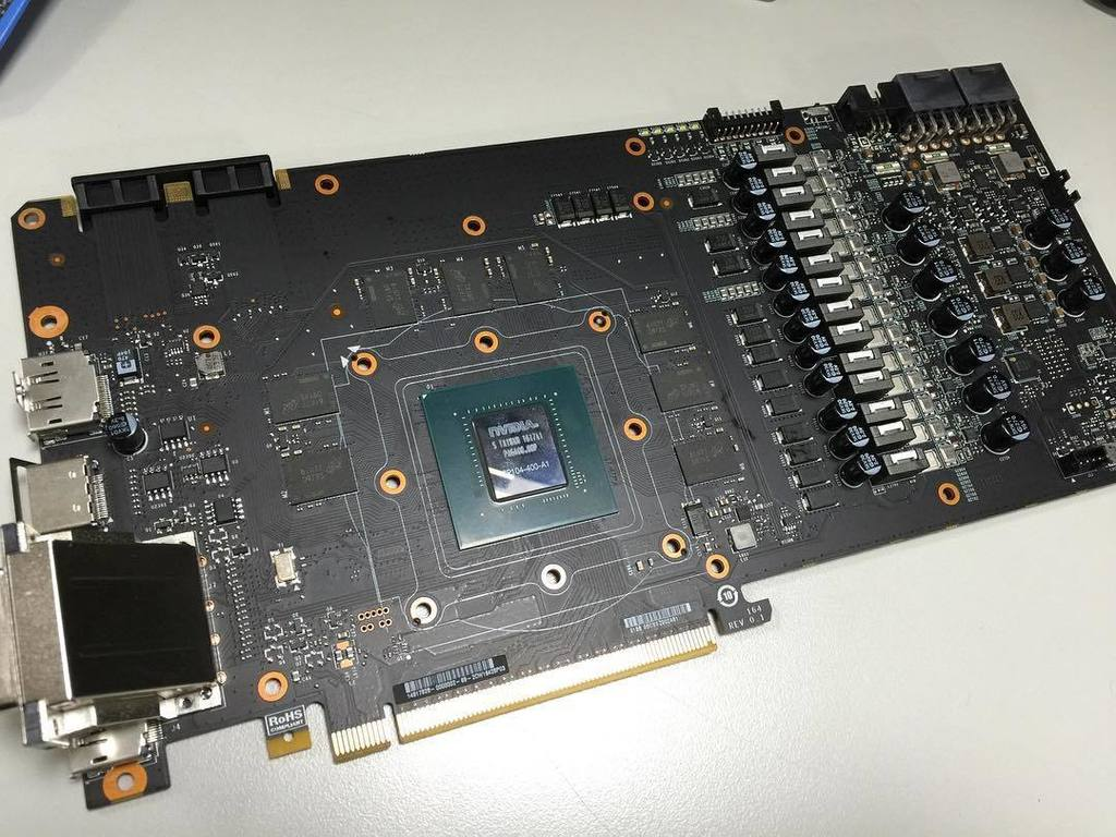 Comparison Of Custom Geforce Gtx 1080 Pcbs Videocardz Com