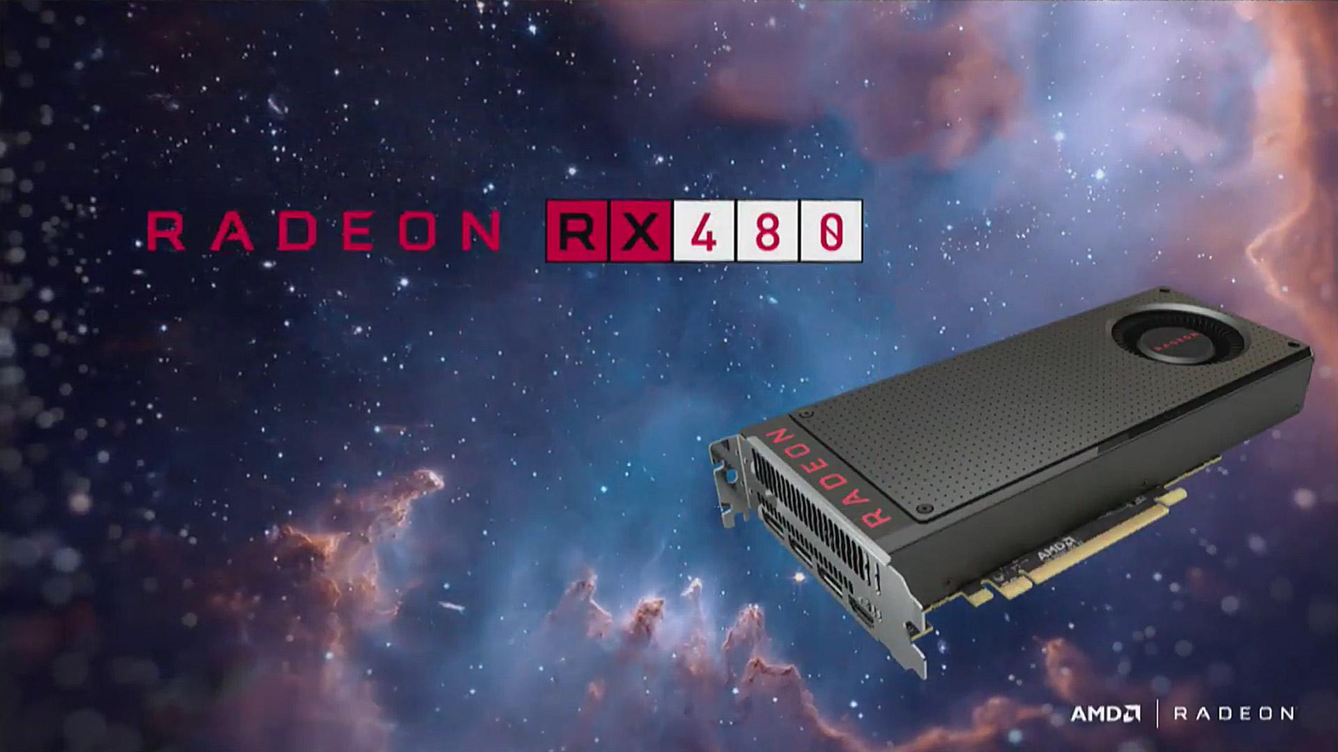 Las nuevas RX480 de AMD funcionan con caca.