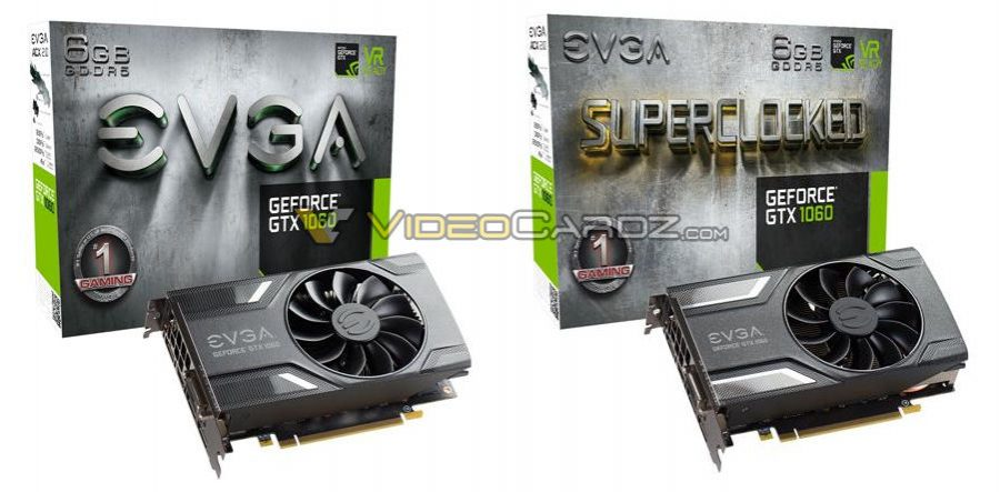 EVGA - Products - EVGA GeForce GTX 1060 SC GAMING - 06G-P4-6163-KR