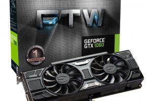 EVGA GeForce GTX 1060 3GB (FTW)