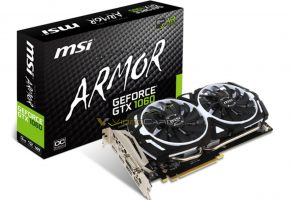 MSI GTX 1060 3GB ARMOR