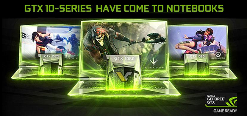 Nvidia GTX 1080M/1070M/1060M
