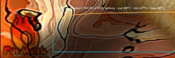 PowerColor Radeon RX 470 4GB Red Devil Furmark Overclocking