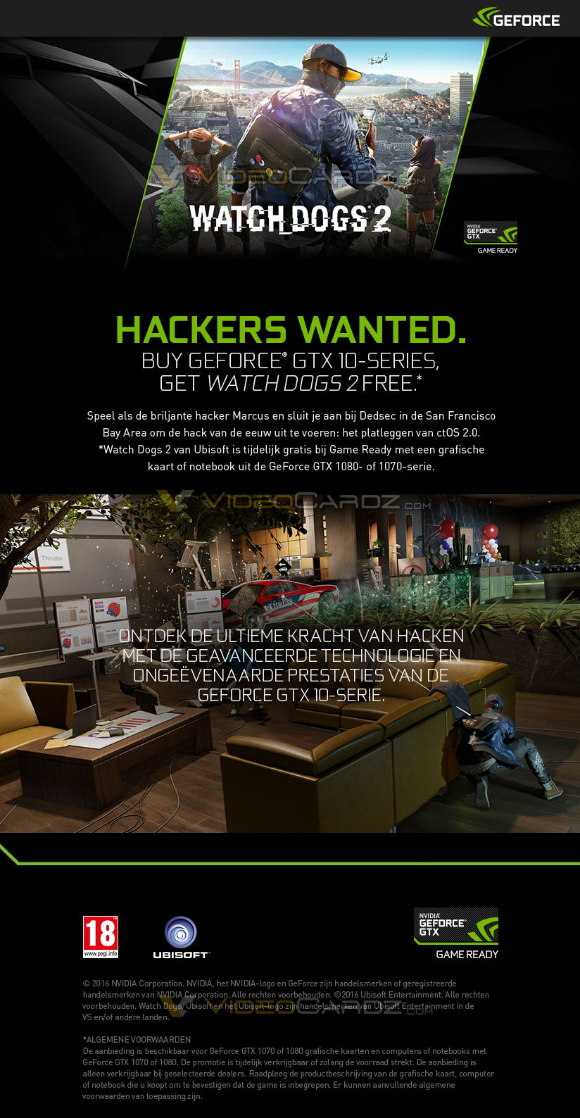 Gtx Watch Dogs Promotion