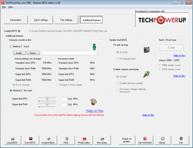 Radeon BIOS Editor
