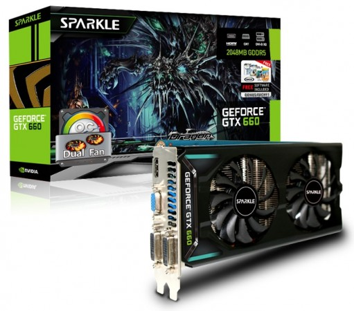 Sparkle GeForce GTX 660 OC DualFan