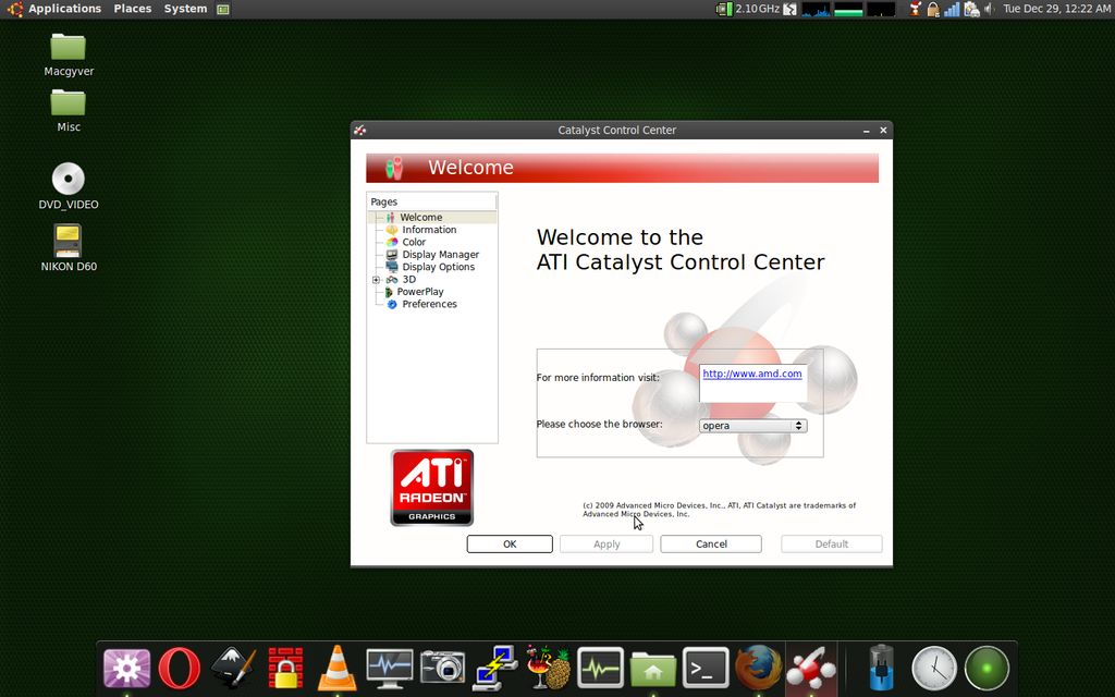 AMD Catalyst Linux
