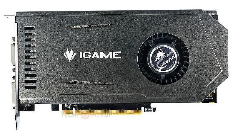 Colorful Single-Slot iGame GTX 650Ti (2)