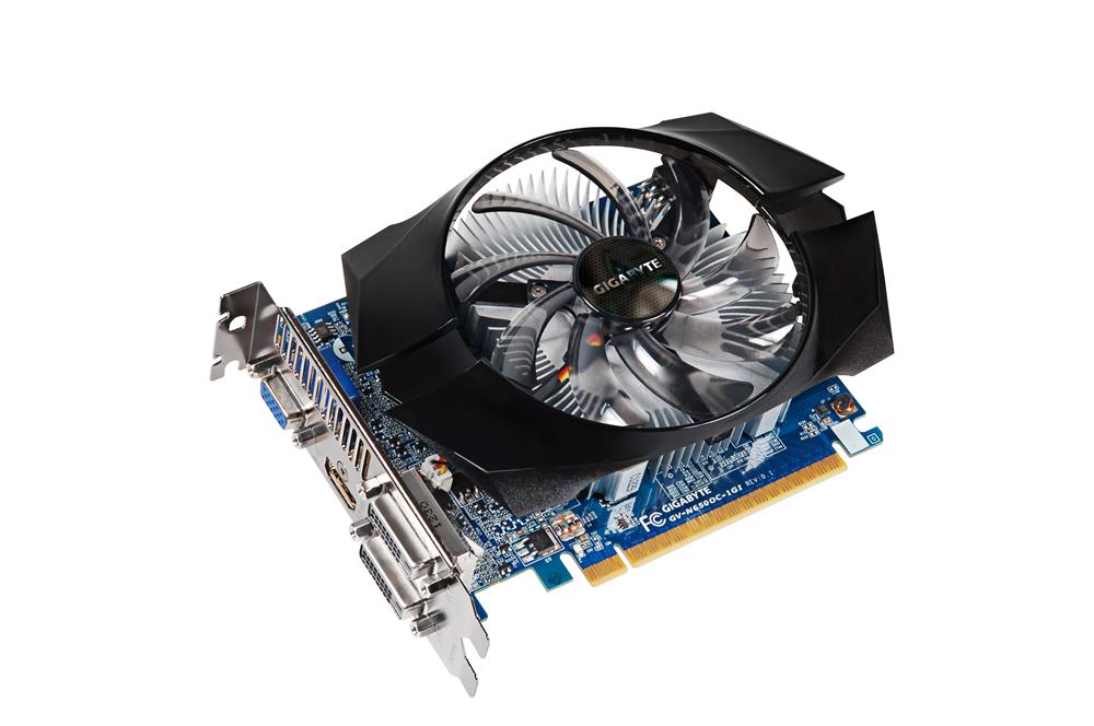Gigabyte GeForce GTX 650 GV-N650OC-1GI PCI-E3.0 1024 MB Dual-link Graphics Card