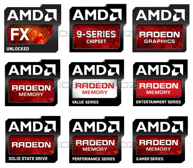 amd has new logos for radeon graphics radeon memory and