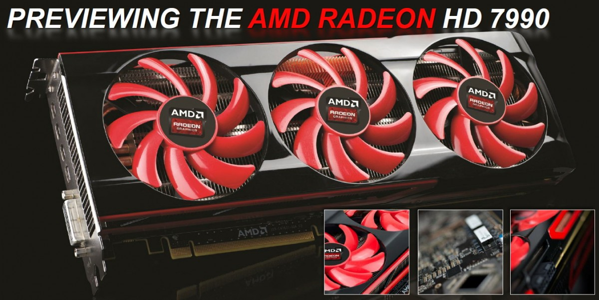 AMD Radeon HD 7990 Reference
