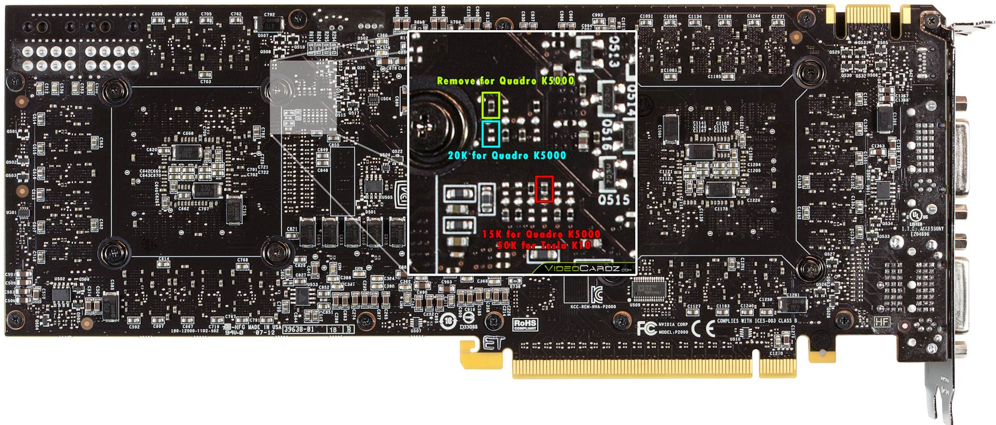 NVIDIA GeForce GTX 690 Modified Into Quadro K5000 and Tesla