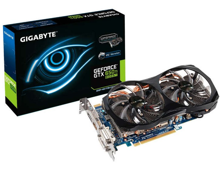 Gigabyte GTX 650 Ti Boost OC WindForce 2X (2)