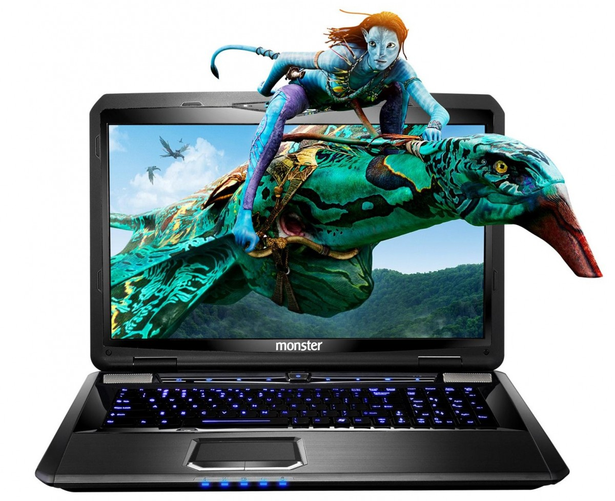 Monster Notebook with GeForce GTX 780M and GTX 770M