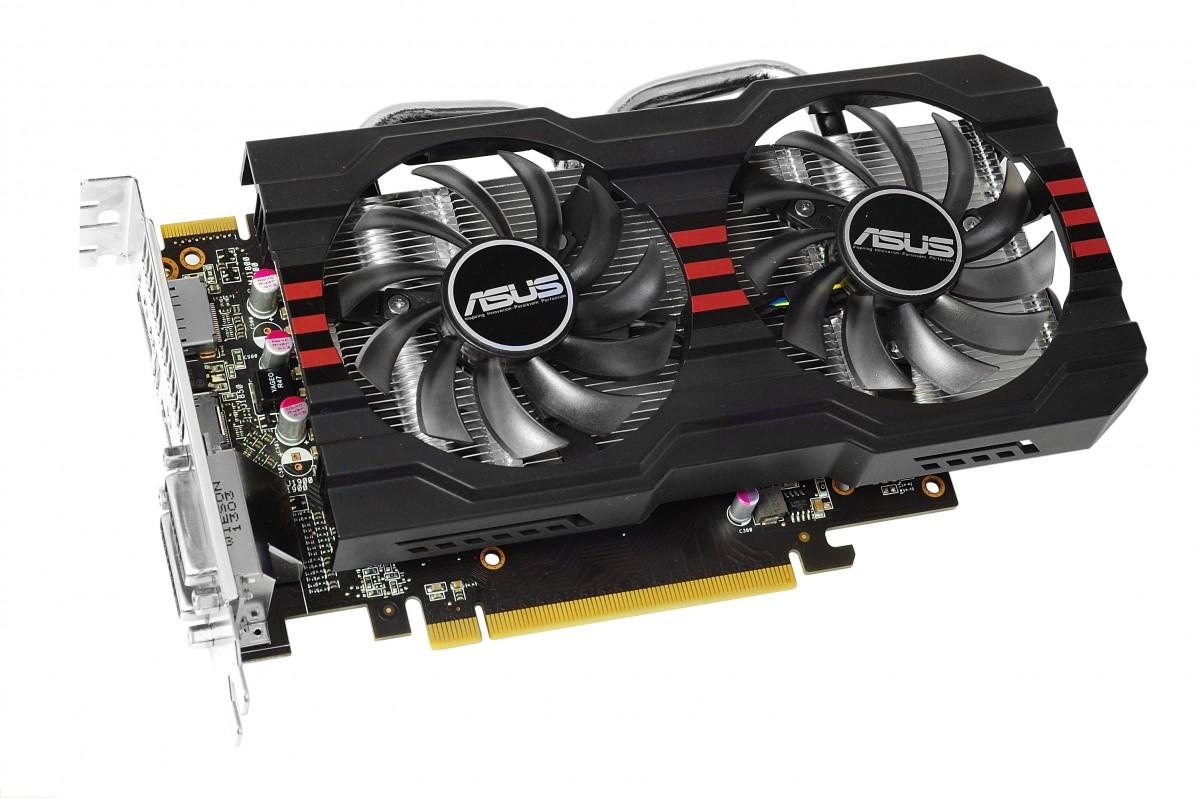 PR ASUS HD 7790 DirectCU II graphics card