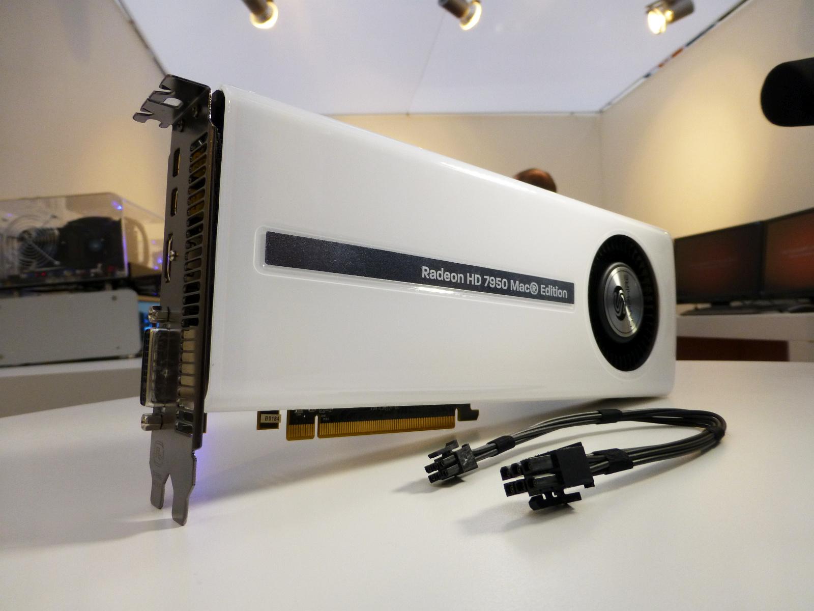Sapphire Shows White Radeon HD 7950 Mac Edition   VideoCardz com