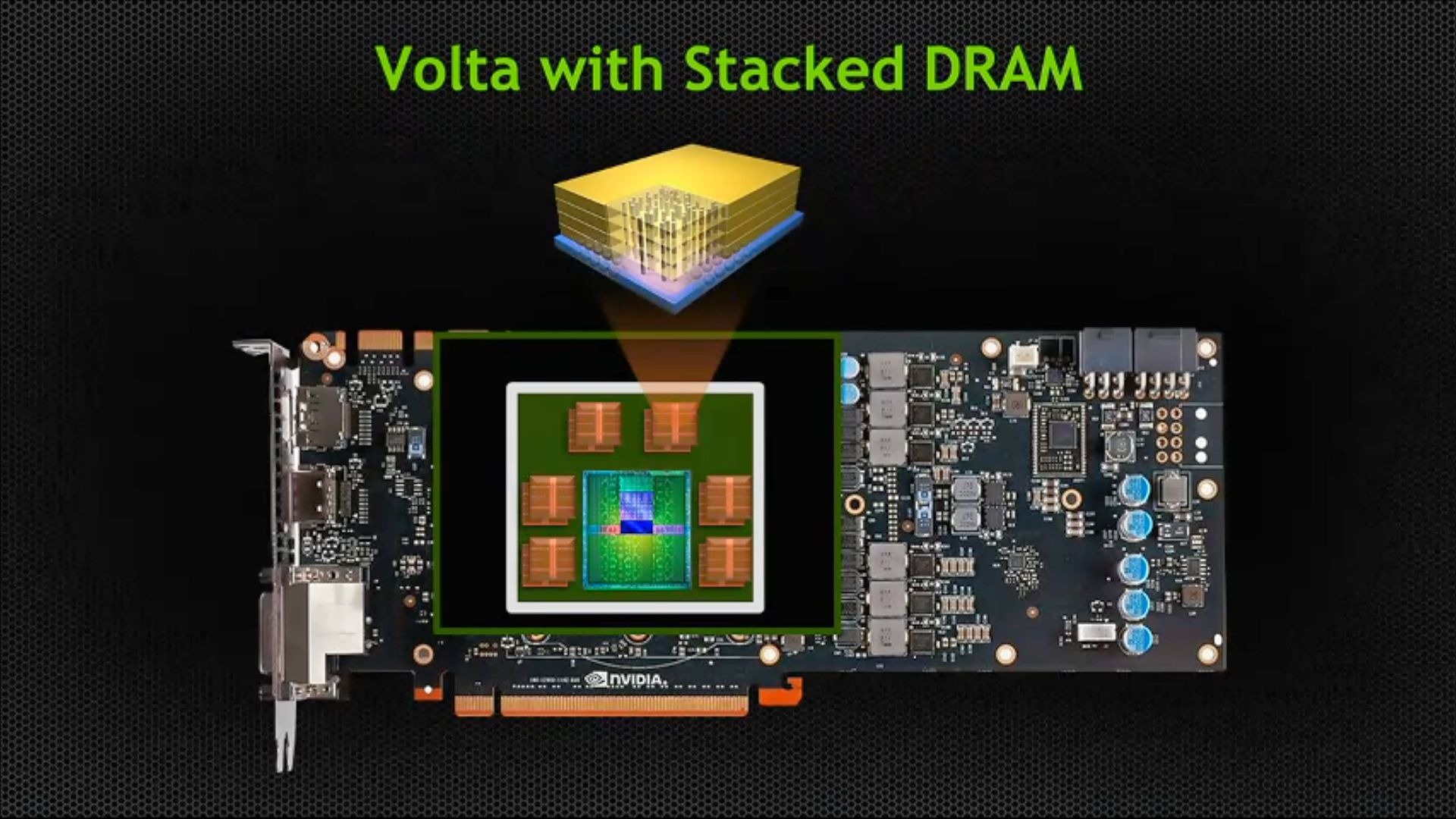 Volta Stacked Memory