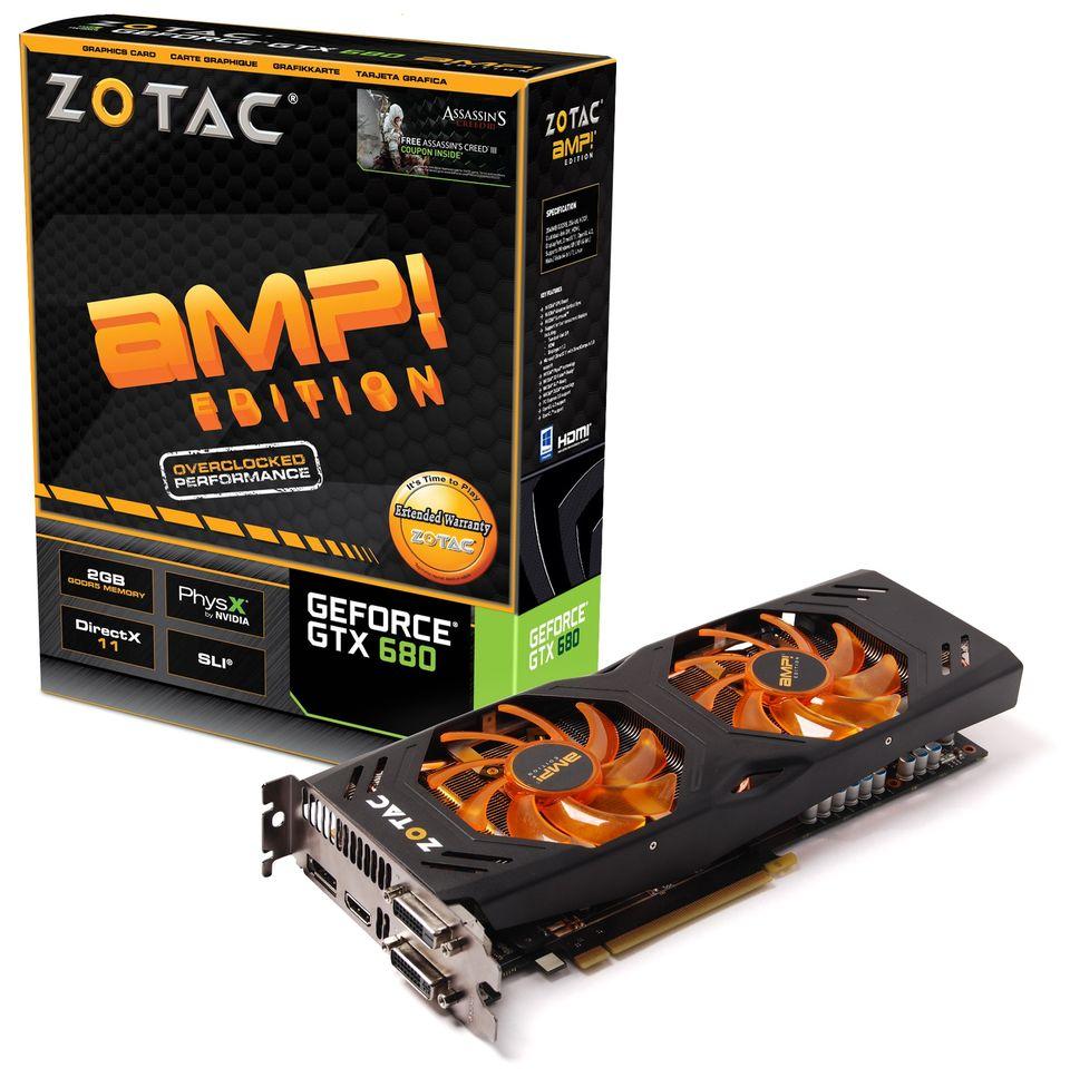 ZOTAC GTX 680 AMP! Edition DualSilencer (2)