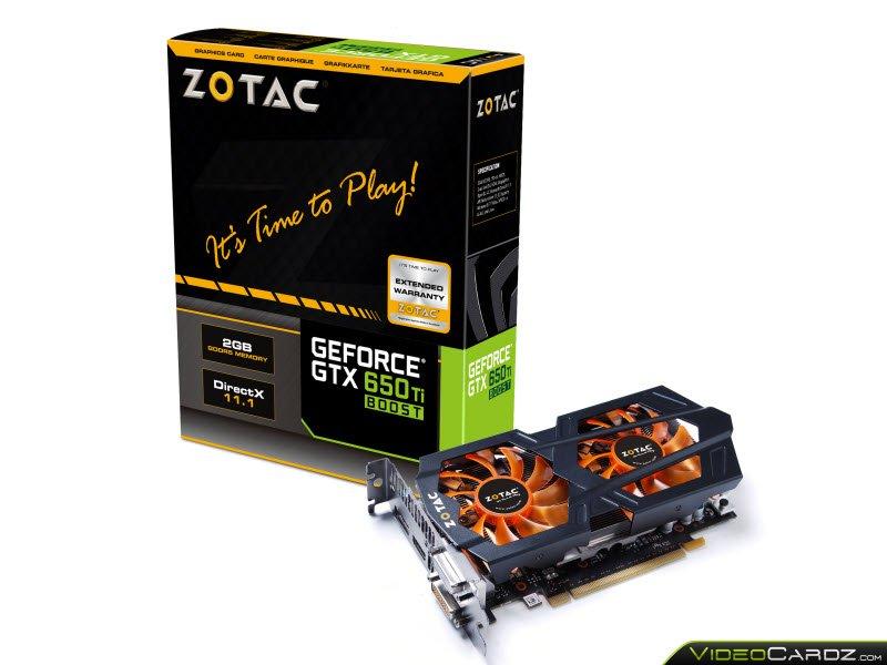ZOTAC GeForce GTX 650 Ti Boost (1)