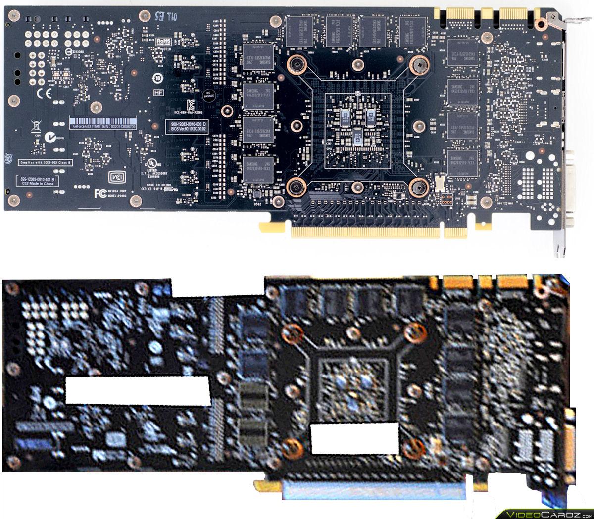 Nvidia Geforce Gtx Titan Le Pcb Pictured Videocardz Com
